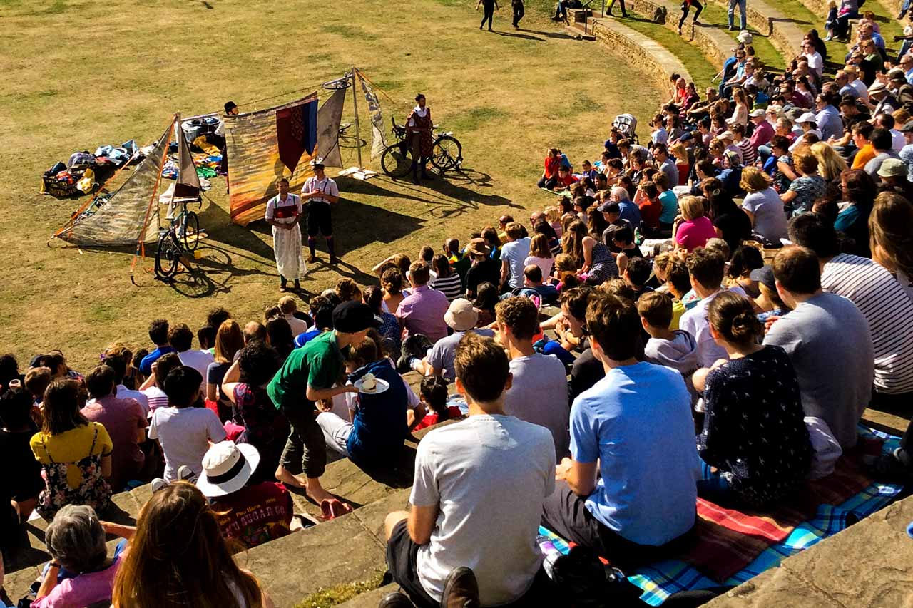 HandleBards at Sheffield Amphitheatre