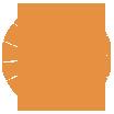 HandleBards Orange Wheel Icon