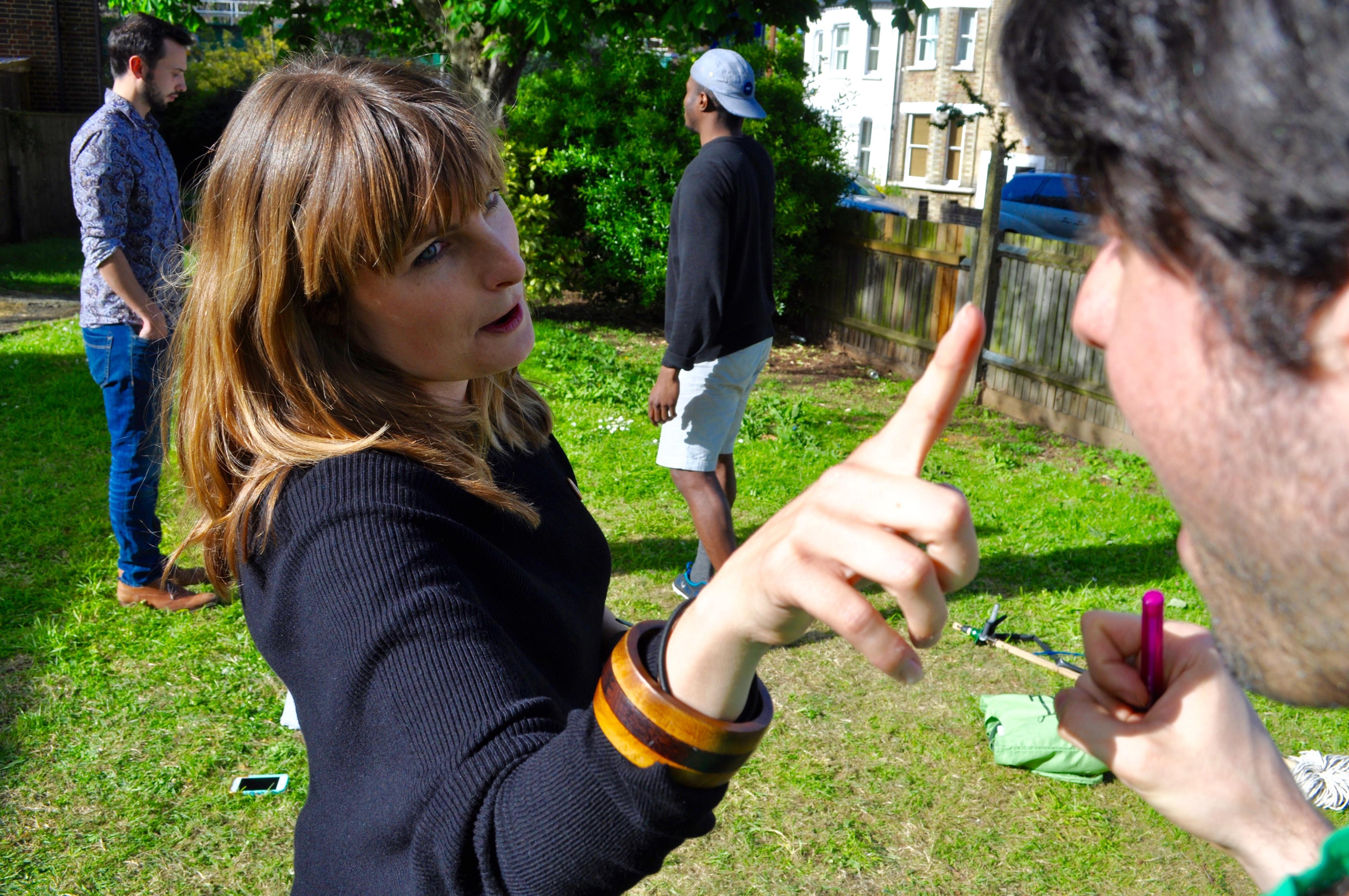 Emma Directing Matt