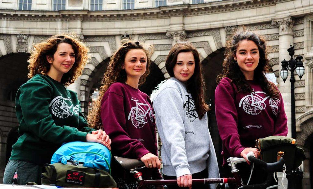 The Girls In Trafalgar Square