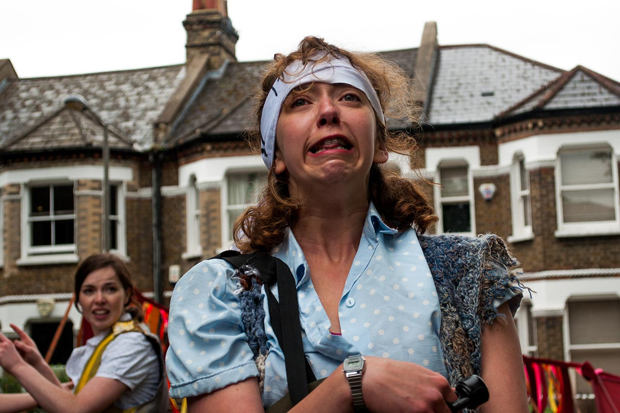 Lizzie Muncey in The Taming Of The Shrew