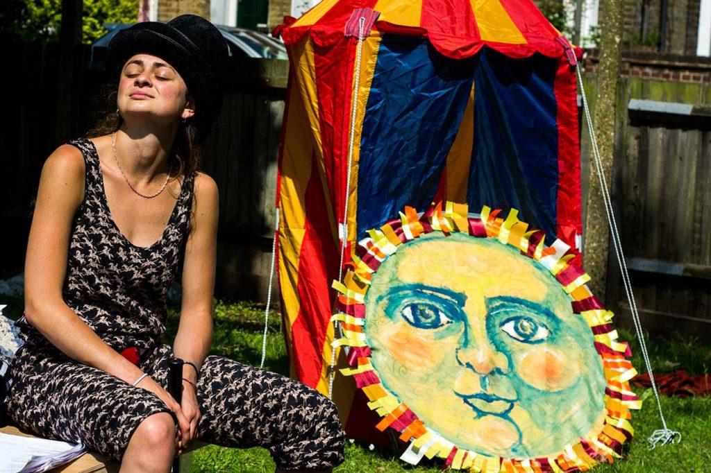 Lotte Enjoys Some Well Deserved Sun