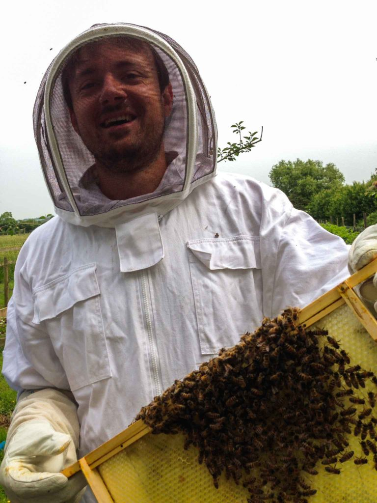 Olly Jacques - Beekeeping
