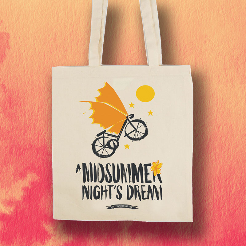 A Midsummer Night's Dream HandleBards Tote bag
