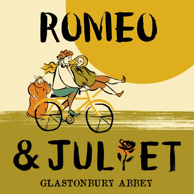 Romeo & Juliet - Glastonbury Abbey