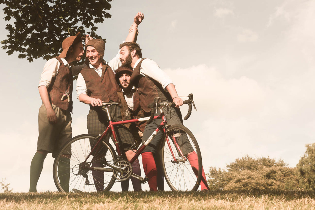 The HandleBards Cycling Shakespeare