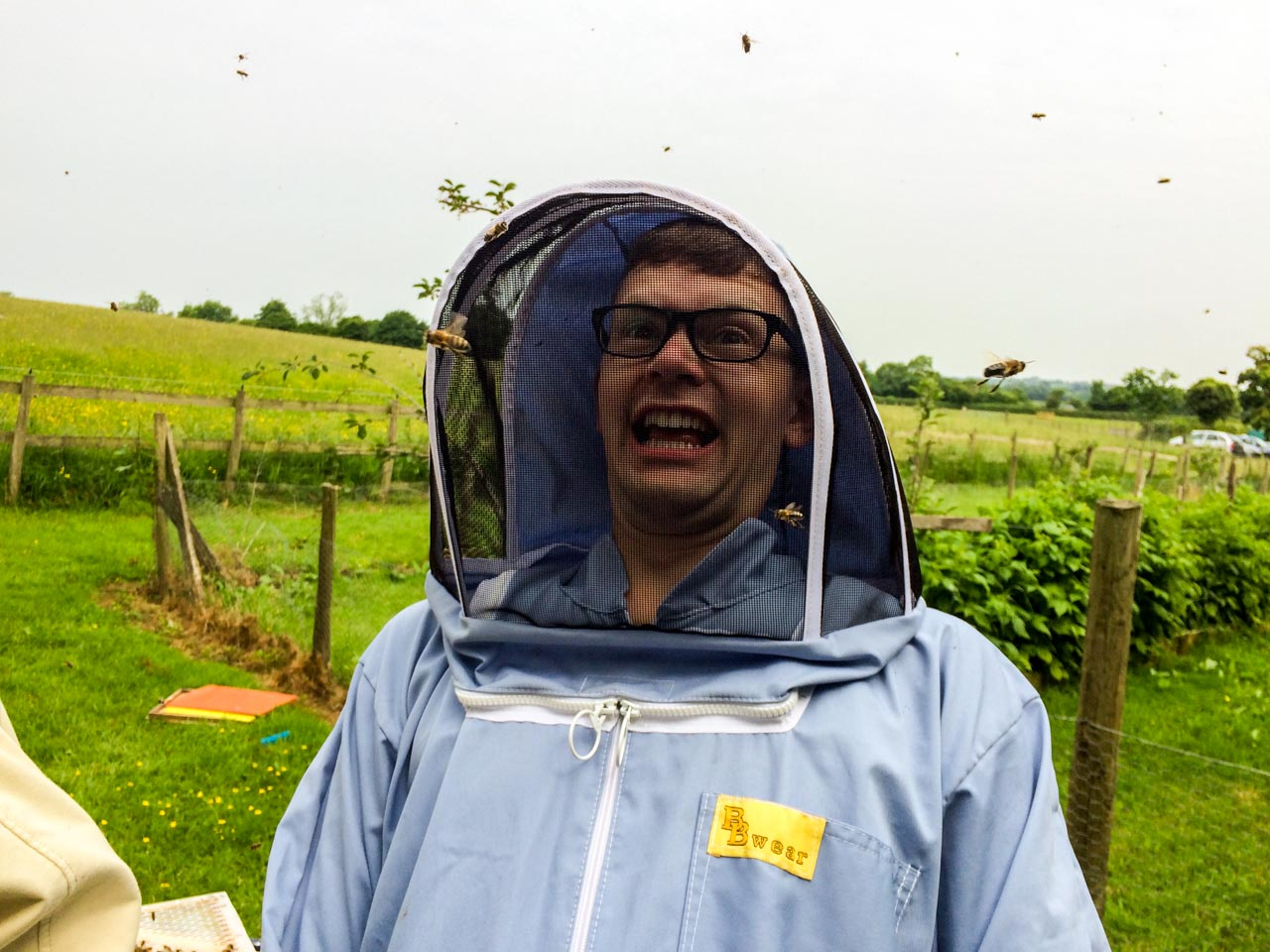 Paul Loves Bee Keeping