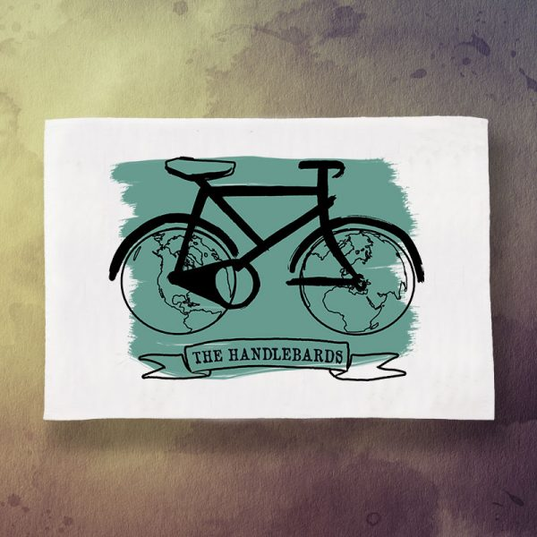 HandleBards Bicycle Tea Towel