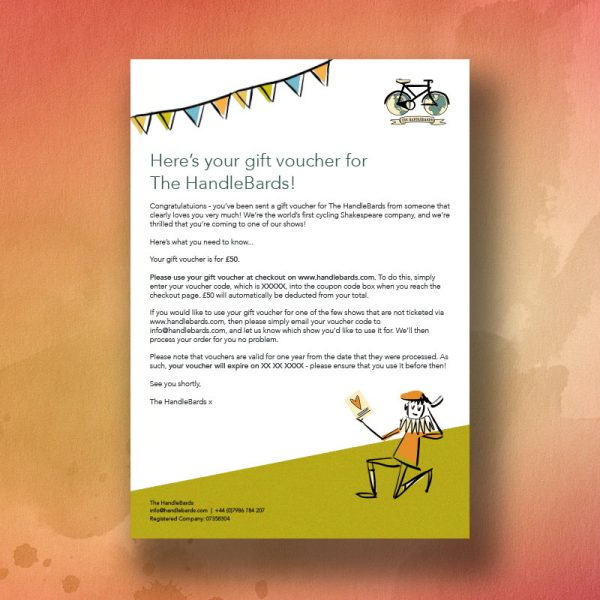 HandleBards £50 Gift Voucher