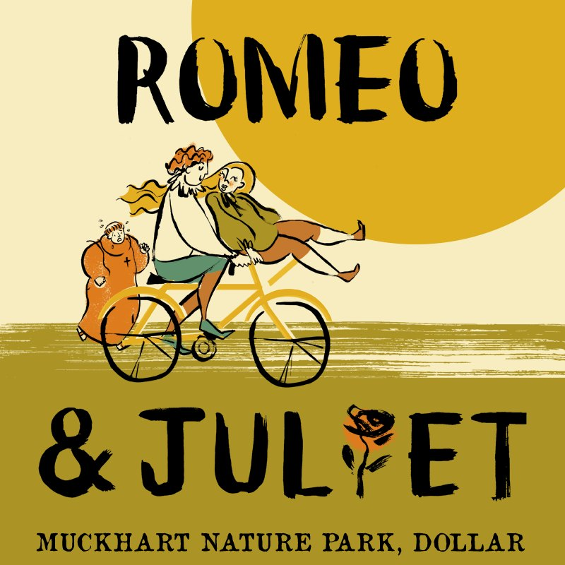 Romeo and Juliet - Muckhart Nature Park