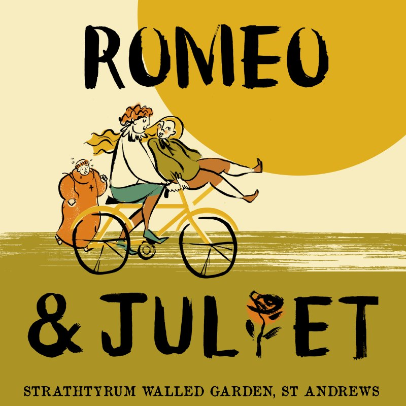 Romeo and Juliet - Strathtyrum Walled Garden