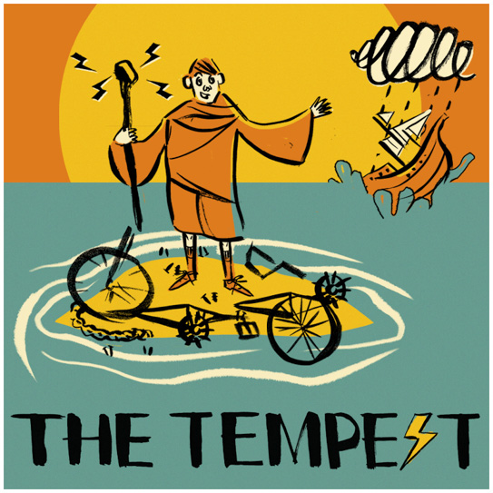 HandleBards The Tempest White Border